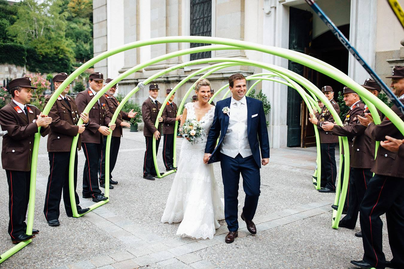 Freiwillige Feuerwehr Hart Feuerwehr Hochzeit