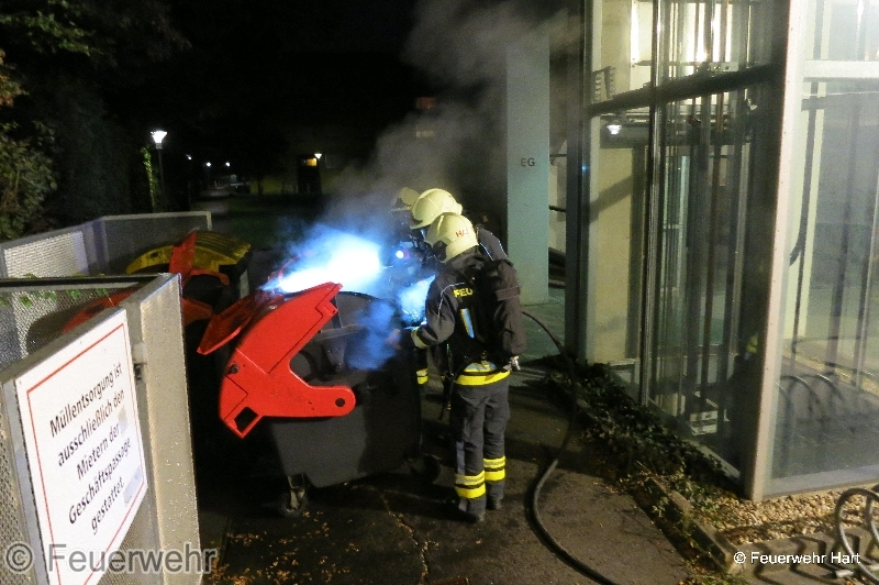 BRAND ABFALL, CONTAINER
